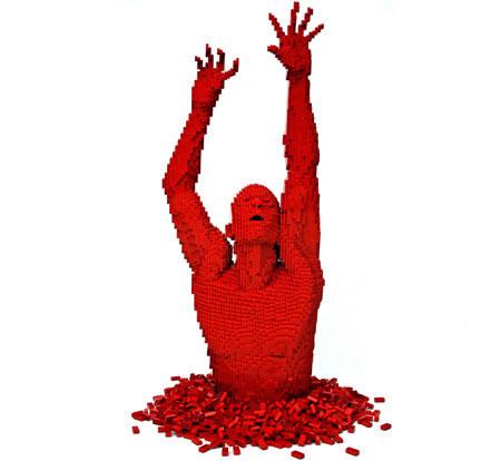 Скульптуры Натана Савайя (Nathan Sawaya) из кубиков Лего
