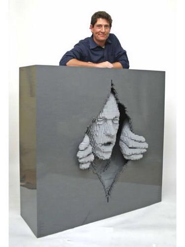Скульптуры Натана Савайя(Nathan Sawaya) из кубиков Lego