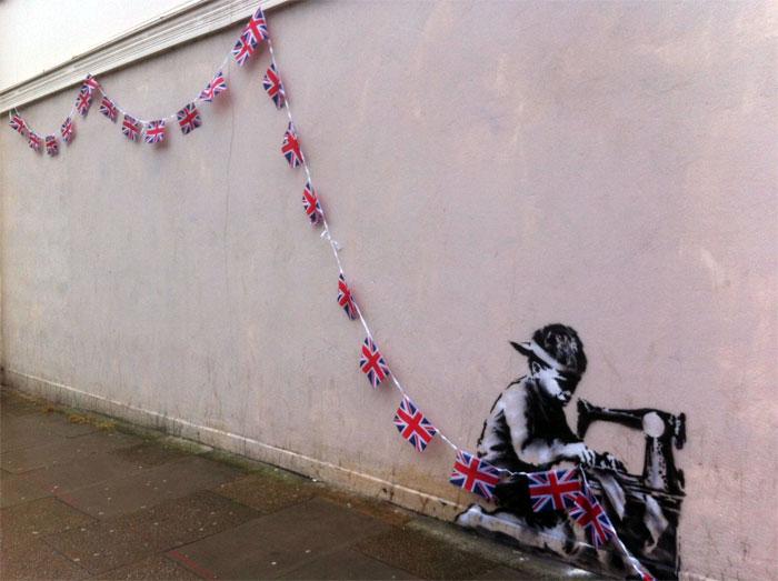 Стрит-арт Бэнкси - Лондон, Великобритания