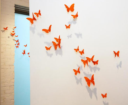 Бабочки ручной работы от Paul Villinski