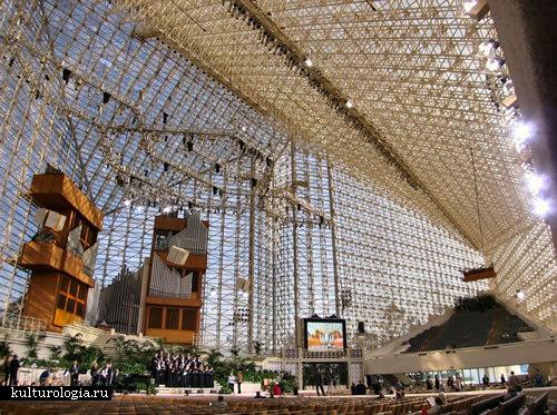 Кристаллический собор в Калифорнии