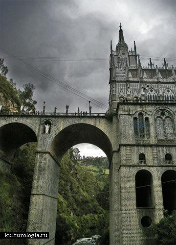 Собор Las Lajas в Колумбии
