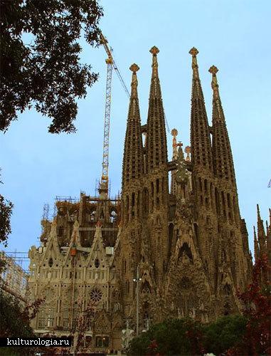 Собор Sagrada Familia в Испании