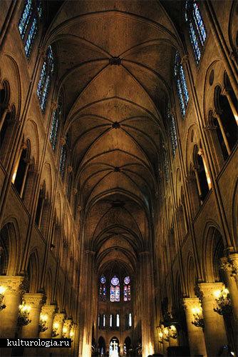 Собор Нотр Дам де Пари во Франции