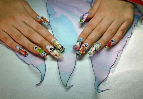 Маникюр как произведение искусства или рисунки на ногтях