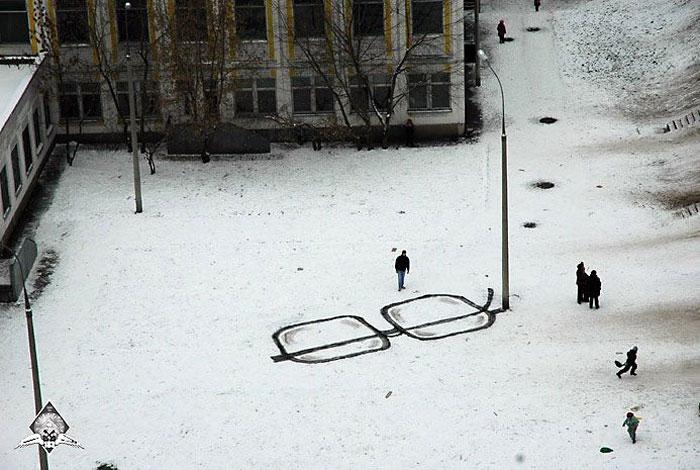 Стрит-арт Павла Пухова, он же Павел-183 (Россия, Москва)