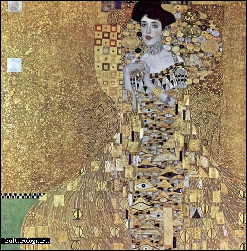 «Портрет Адели Блох-Бауэр I», Густав Климт