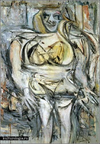 «Женщина III», Виллем де Кунинг