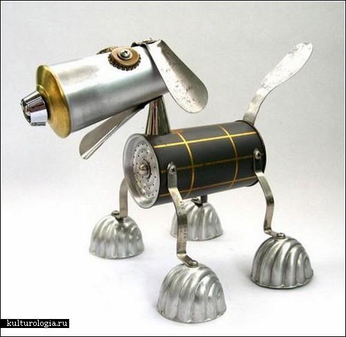 Забавные роботы от Брайана Маршалла