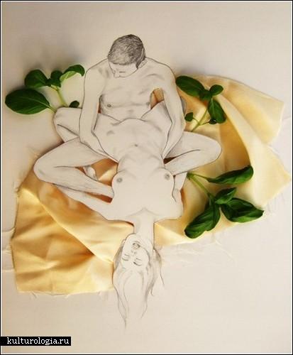 Стирая границы рисунка и реальности. Иллюстрации Адрианы Муньос
