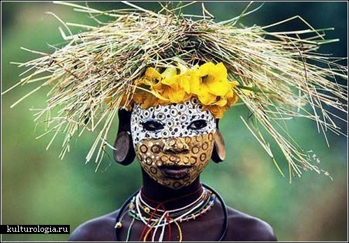 Загадочные девушки Африки.