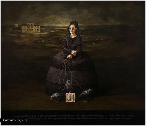 Живопись Алана Макдональда: Рембрандт и кока-кола
