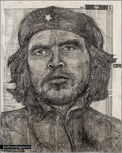 Портреты из телефонных справочников от Алекса Кверела