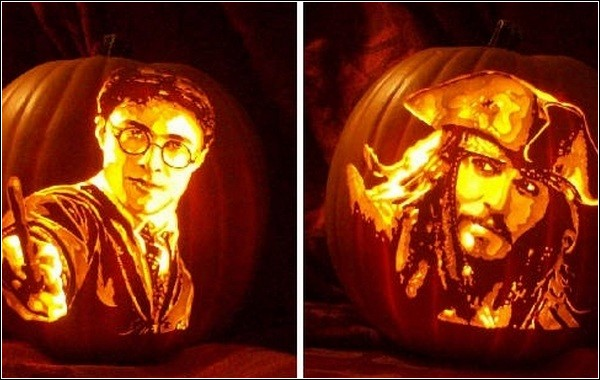Pumpkin art от Алекса Вера