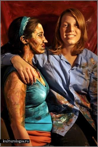 Боди-арт Алексы Мид: герои, сошедшие с полотен