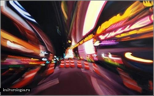 Ночная жизнь в живописи Александры Пацулы