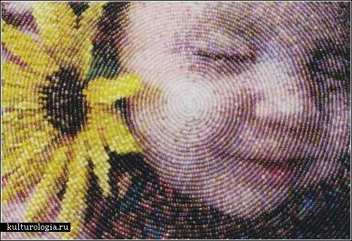 Рвоими руками :: Картины из бисера фото Вышивка присутствует.