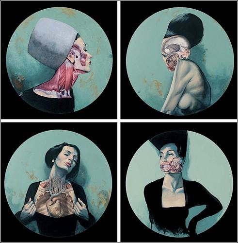 Анатомия в современном искусстве