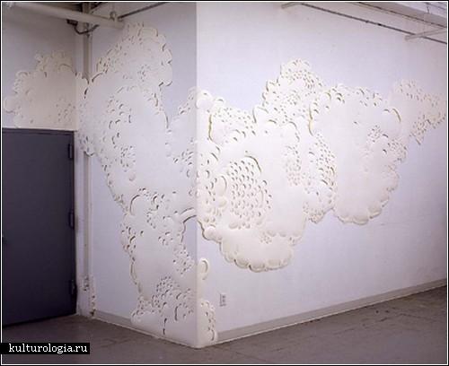 Игры с пространством в бумажном арте Андреаса Кокса