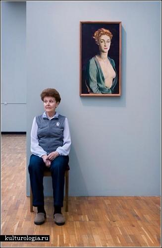 Стражницы русских музеев глазами Энди Фриберга