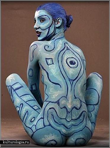Боди-арт от Энди Голуба