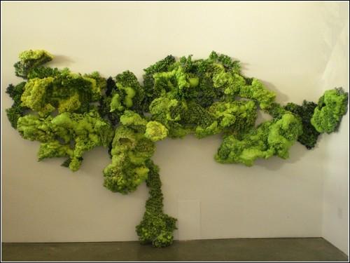 Биоморфные инсталляции Аннелизы Фобис