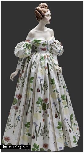 Бумажная мода Аннет Мэйер (1830 год)