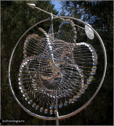 Кинетические скульптуры Энтони Хоува