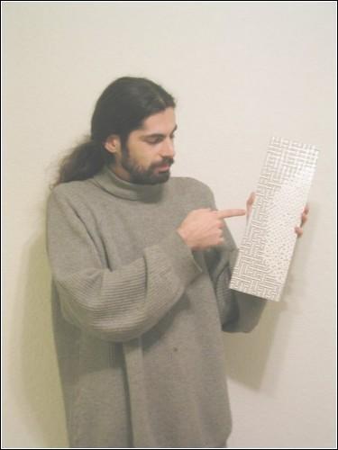 «Пиксельная мозаика» Ари Крапника