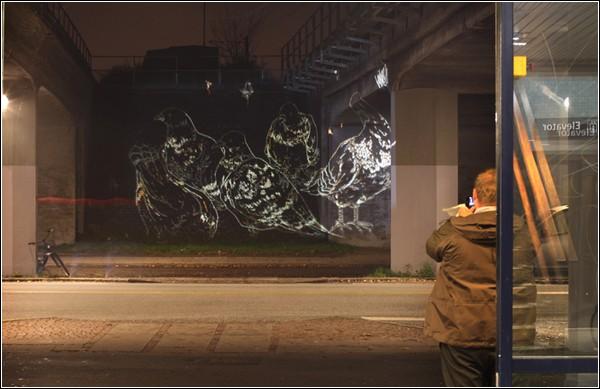 Armsrock рисует не только людей, но и птиц