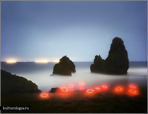 Вспышки света в природе. Фотографии Барри Андервуда