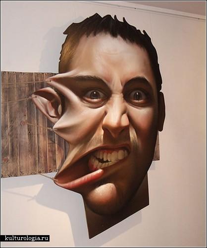 «Марионетки». Инсталляция от мастера стрит-арта Белина