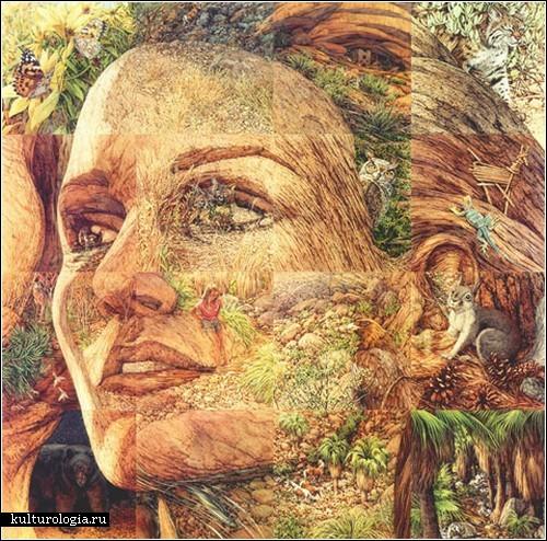 «Камуфляжное» искусство Бэв Дулиттл