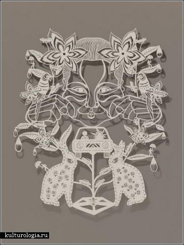 «Китайские традиции в бумажном арте Бови Ли»