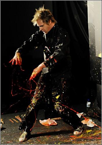 Картина за несколько минут. «Art in Action» от Брайана Олсена