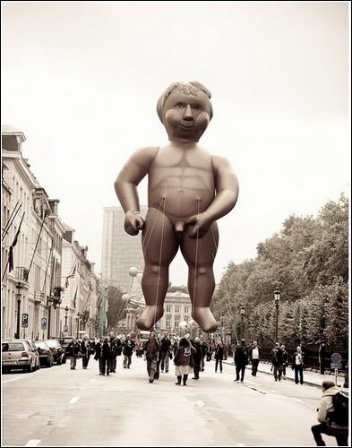 Парад воздушных шаров в Брюсселе