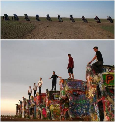 Ранчо Кадиллаков, или Памятник американской мечте