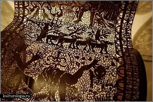 Металлическое кружево от Кэл Лэйн