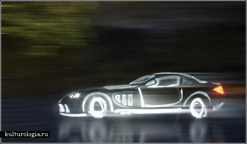�Light Graffiti Cars Project�: ����������, ������������ ������