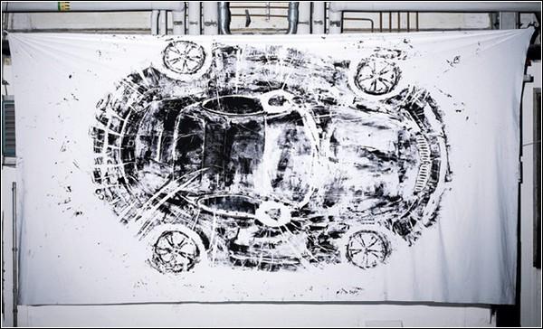 «Автомобильная живопись» Сары Илленбергер