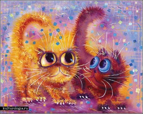Коты кошки и котята бориса касьянова