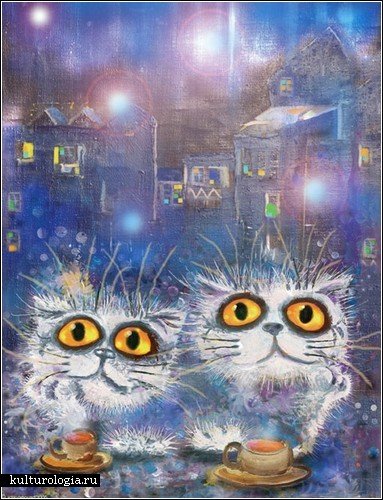 Коты, кошки и котята Бориса Касьянова