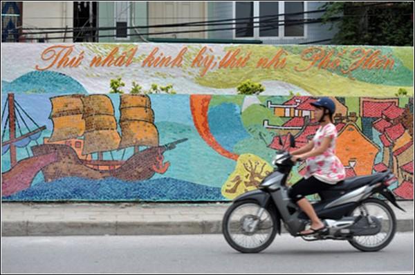 Мозаичная стена и мировой рекорд к 1000-летию Вьетнама