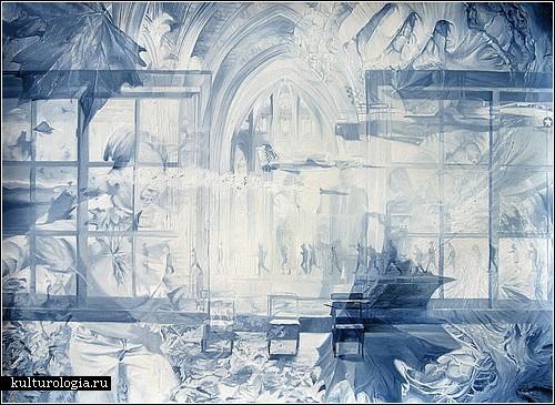 Ускользающая реальность в картинах Чада Робертсона