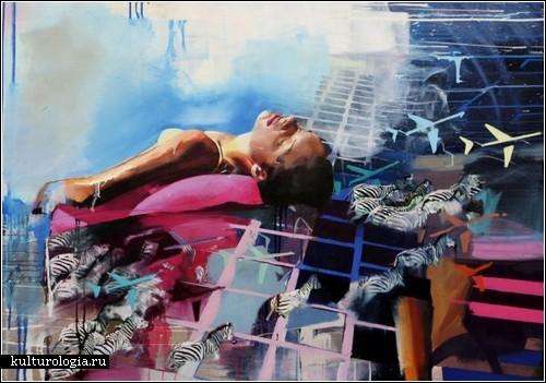 Мир, собранный по новым схемам: живопись Хлои Ерли