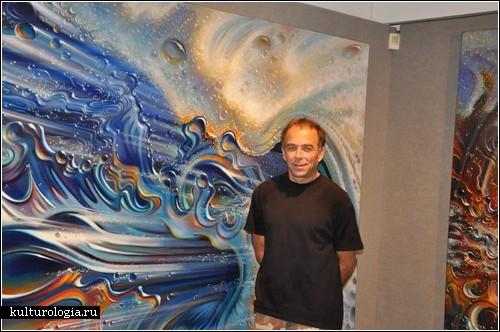Крис Ланди: живопись человека, влюбленного в океан