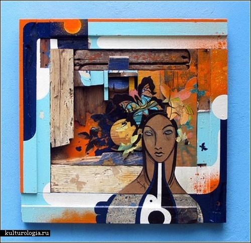Стрит-арт Кристофера Тавареса Силвы: изменим мир к лучшему