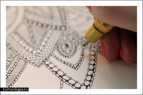 Любовь к природе в деталях: рисунки Клер Скалли