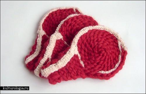 «Мясное вязание» Клеменс Джоли