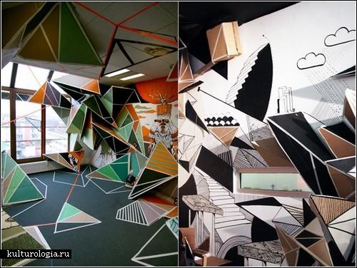 Игры с пространством в инсталляциях Клеменса Бера